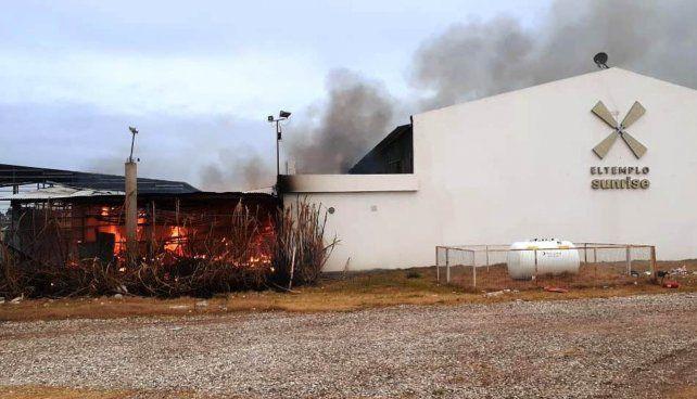 Venado Tuerto: un voraz incendio causó daños millonarios en emblemático boliche