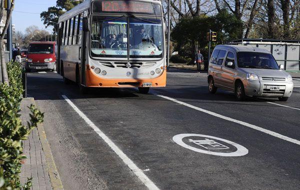 La segunda etapa comprende los tramos de Santa Fe y Córdoba entre Oroño y Cafferata. (Foto: Angel Amaya)