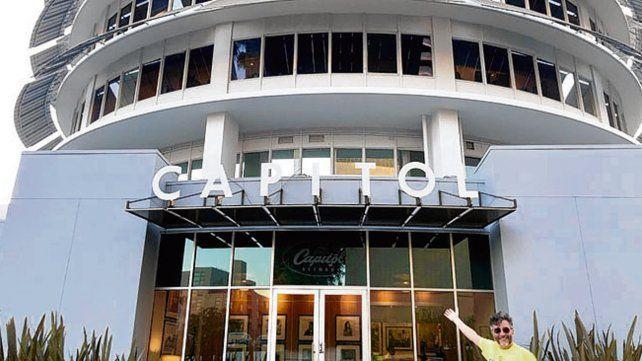 Fito Páez graba su disco en Capitol Studios