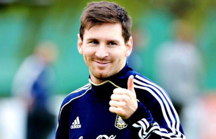 Messi se mostró complacido por el pedido del presidente Barack Obama.