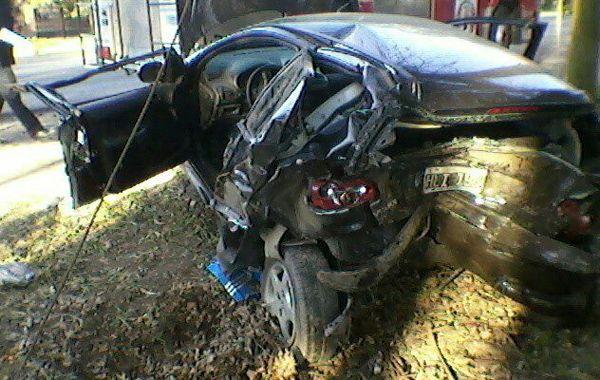 El Peugeot dio varios tumbos. Fue el domingo. Después de agonizar cuatro días