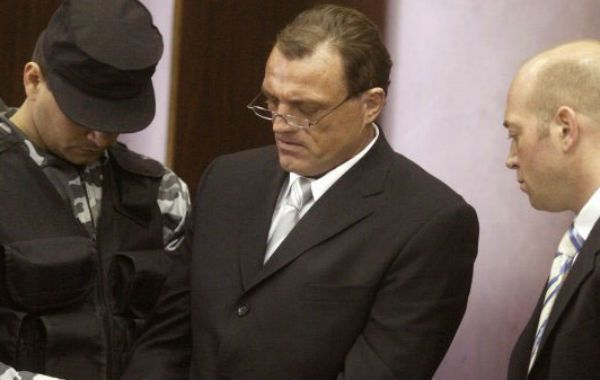 Con sentencia. Horacio Conzi cuando asistió a su enjuiciamiento.