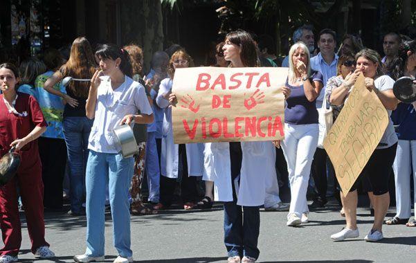 Las quejas de los médicos rosarinos por la inseguridad crecieron en los últimos años.