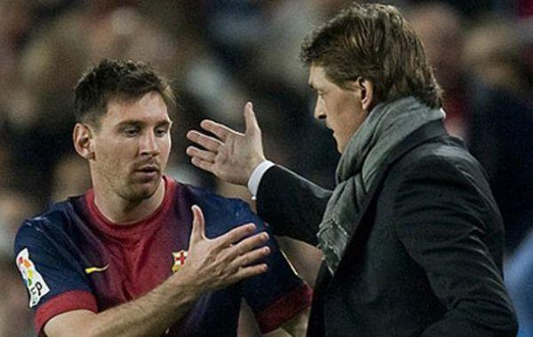 Messi visitó a Tito Vilanova en su domicilio apenas una semana antes de la muerte del DT.