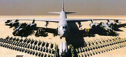 Un bombardero estadounidense se estrelló cerca de la isla de Guam, en el Pacífico oeste