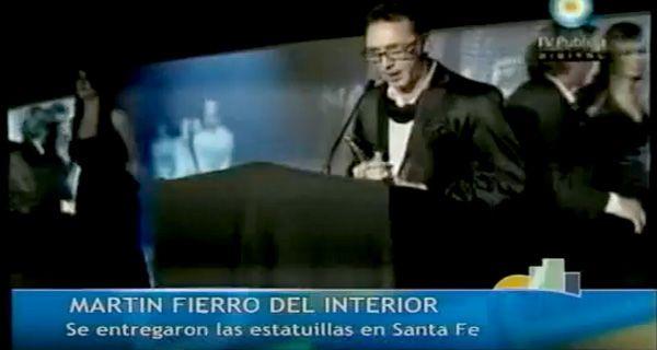 Rosario se trajo cuatro premios de la entrega de los premios Martín Fierro del interior