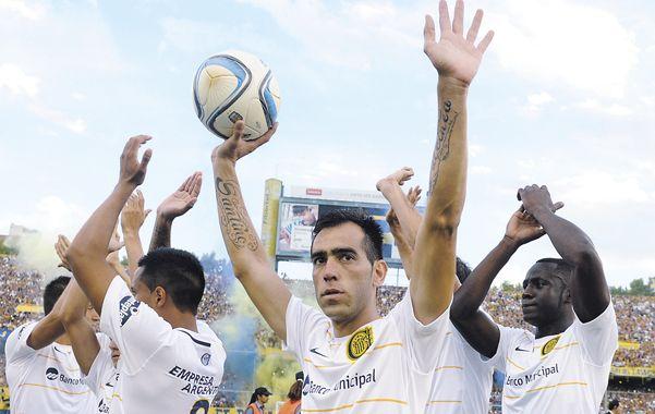 Brazos en alto. El Chelito será titular por segunda vez desde su regreso a Central. Lo hará ante Rafaela en lugar de Franco Niell.