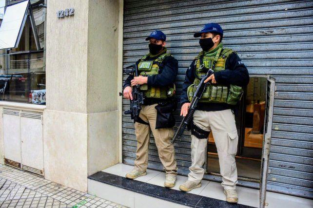 La TOE estuvo apostada en la puerta del Sindicato de Trabajadores Municipales