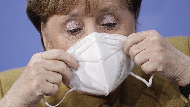 Angela Merkel aseguró que se viene la fase más dura de la pandemia
