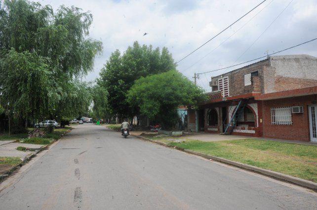Cafferata al 2700, barrio Soldado Aguirre de Villa Gobernador Gálvez.