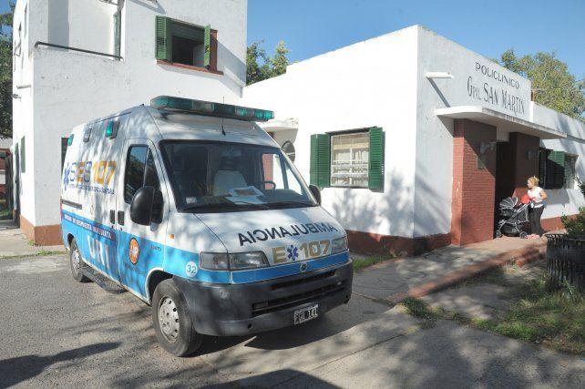 El hombre fue llevado al Policlínico San Martín pero llegó sin vida