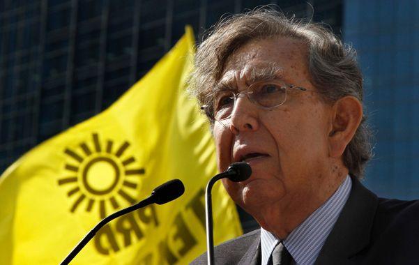 Líder emblemático de la izquierda mexicana