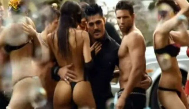 Salió a la luz el video hot de Ricardo Fort con la Sueca Larsson, Sofía Jujuy y Maypi Delgado