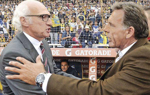 Enfrentados. El primer partido se jugará en el Gigante y la revancha en la Bombonera.