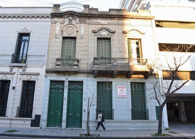 excepción. Los dueños de este inmueble de Laprida al 1300 pidieron en el Concejo que lo saquen del catálogo de edificios de valor patrimonial.
