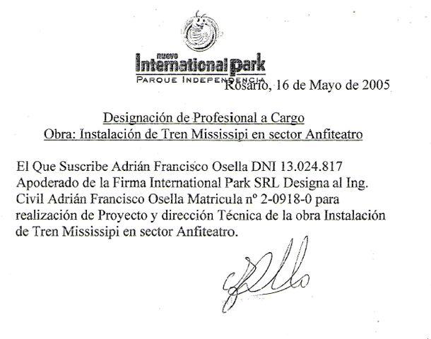 Copia de un documento en el que el apoderado se autoriza a sí mismo.