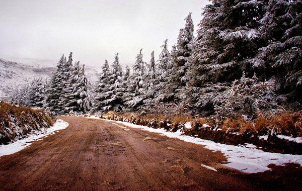 Las sierras cordobesas mostraron un paisaje poco habitual.