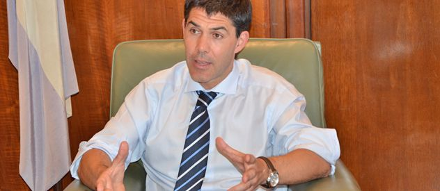 Ramos comprometió el apoyo del justicialismo al gobernador para tomar las medidas de fondo por la crisis desatada en seguridad.