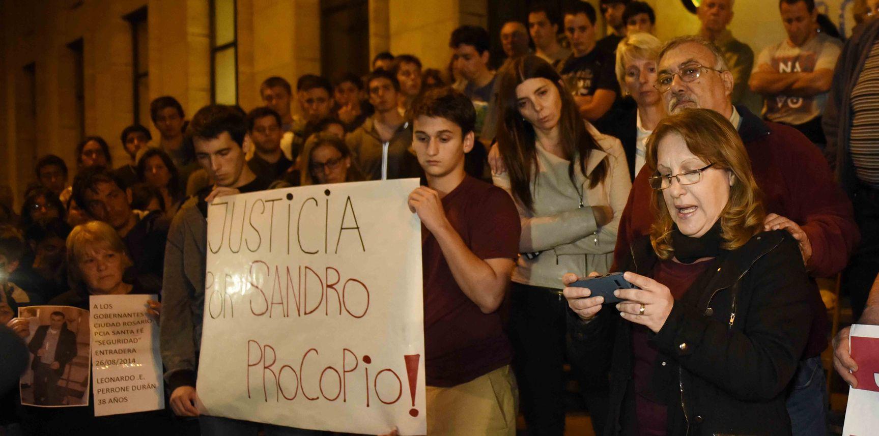 Reclamo de Justicia por el crimen del arquitecto asesinado el pasado 24 de agosto. (Foto de archivo)