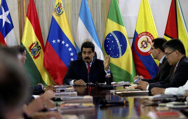 Sorpresivo anuncio. Maduro explicó a los delegados regionales la intentona golpista contra su gobierno.