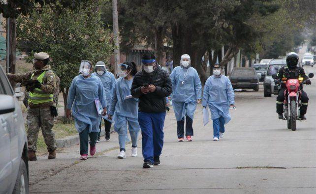 Hubo más de 30 mil contagios entre trabajadores de la salud.