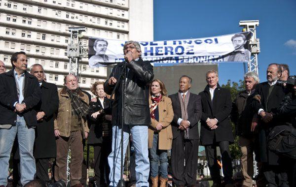 El discurso de Moyano fue el más duro contra la Casa Rosada.