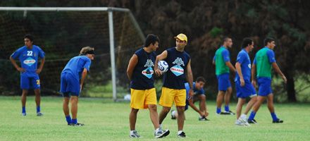 Central: todo listo para enfrentar mañana a Atlético Rafaela