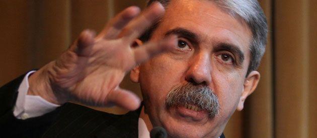 Nunca se fue. Aníbal Fernández recuperó ayer su rol como vocero del gobierno nacional.