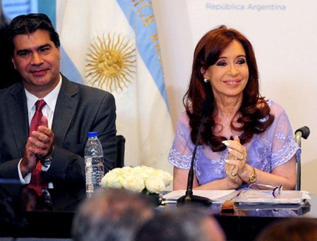 Cristina redobló sus críticas a los medios. (Foto:Télam)