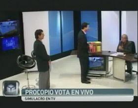 Un simulacro de votación, para que no queden dudas con la Boleta Unica