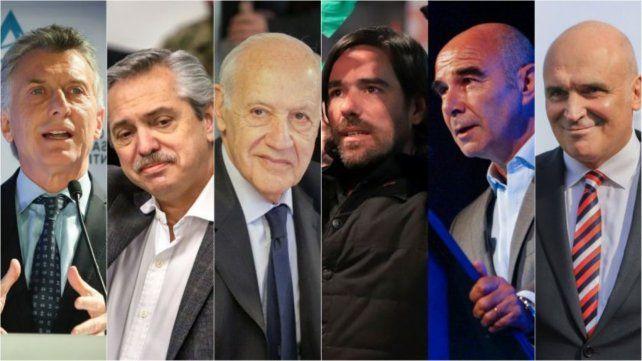 Los candidatos a presidente buscarán desde hoy apuntalar con los spot de campaña sus chances para los comicios generales del 27 de octubre.
