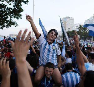 Los argentinos se confiaron y creyeron encontrar entradas a valores normales.