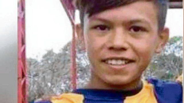 Diego Román. El chico tenía 12 años y recibió 30 puñaladas.