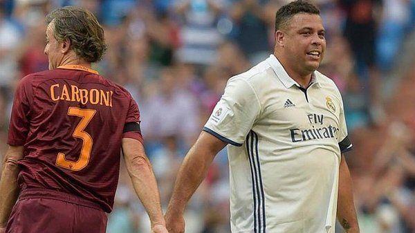 La impactante figura de Ronaldo que volvió a ponerse la camiseta del Real Madrid