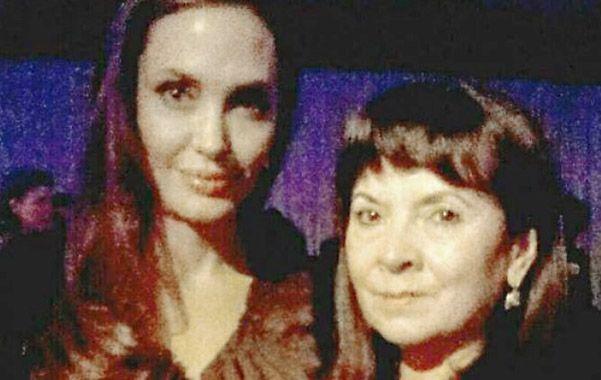 Reconocimiento. Trimarco fue felicitada por Meryl Streep y Angelina Jolie.