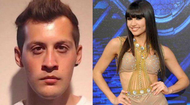 La bailarina Julieta Antón fue atacada ayer por Sebastián Villarreal