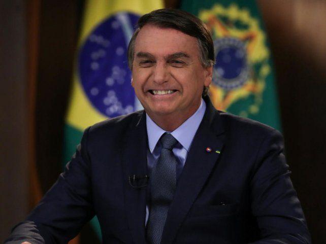 El presidente de brasileño