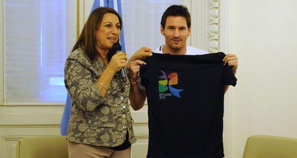 Messi promociona a Rosario para los Juegos Panamericanos: Ojalá se le dé a la ciudad