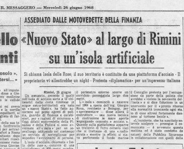 Los diarios italianos siguieron durante meses la puja de Giorgio Rosa con el Estado.