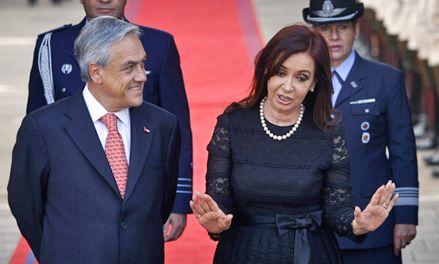 Cristina agradeció a Chile el aval a la soberanía argentina en Malvinas