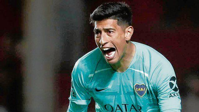 Lesionado. Andrada no jugó los amistosos y no se sabe si estará ante Independiente.