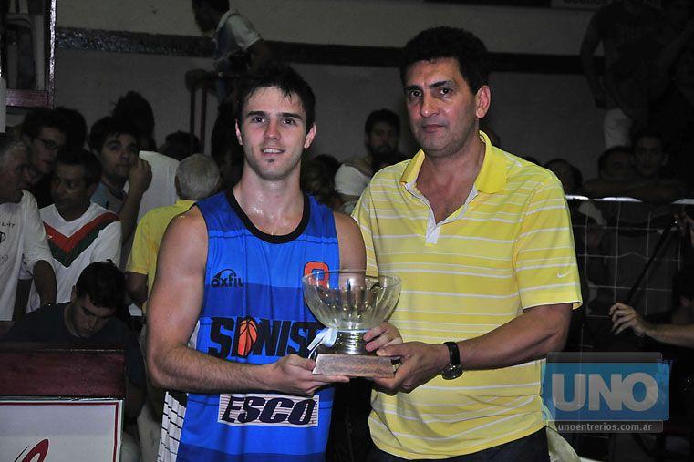 EL MVP. Jeremías Sandrini