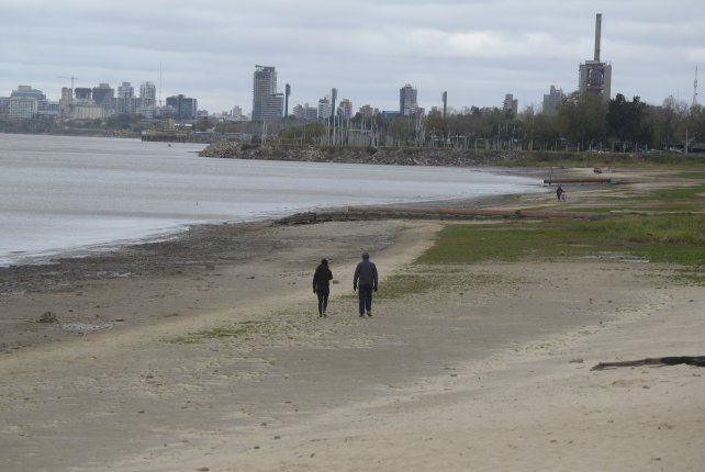 El 2021 es el segundo año en que el nivel del Paraná se mantiene por debajo de lo normal.