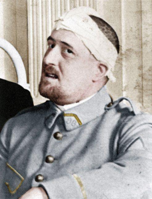 El gran poeta francés Guillaume Apollinaire (1880-1918).