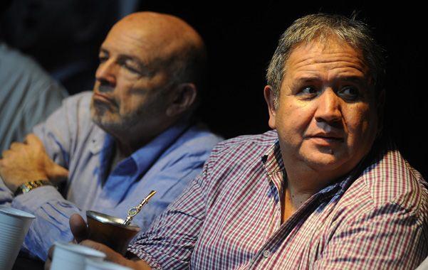 En campaña. Palazzo se presentó en Rosario con su lista de candidatos.