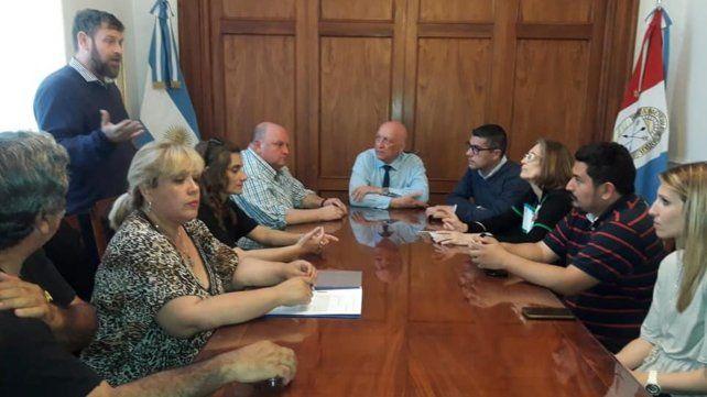 En Diputados. Integrantes de la red provincial de organizaciones que abordan la problemática y prevención de accidentes viales presentaron sugerencias.