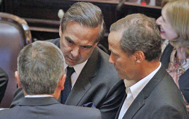 Sin reparos. El oficialista Pichetto acompañó la propuesta de Giustiniani.