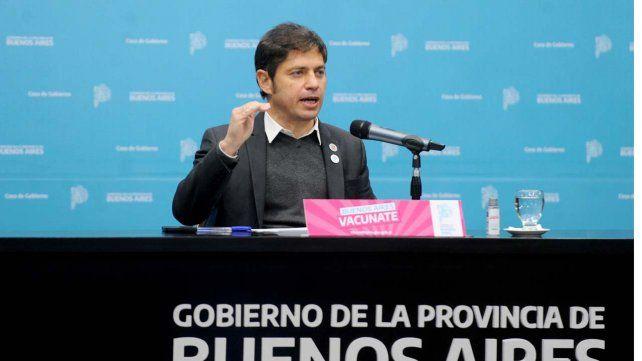 El gobernador de Buenos Aires