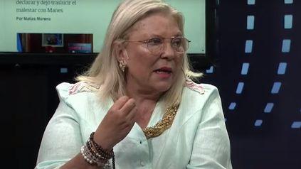 Elisa Carrió aseguró que el kirchnerismo está detrás de las acciones de los mapuches en la Patagonia.