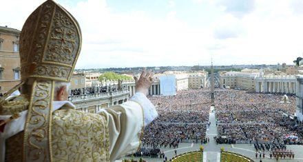 El Papa llamó a la paz, la unidad y la tolerancia religiosa en la Pascua
